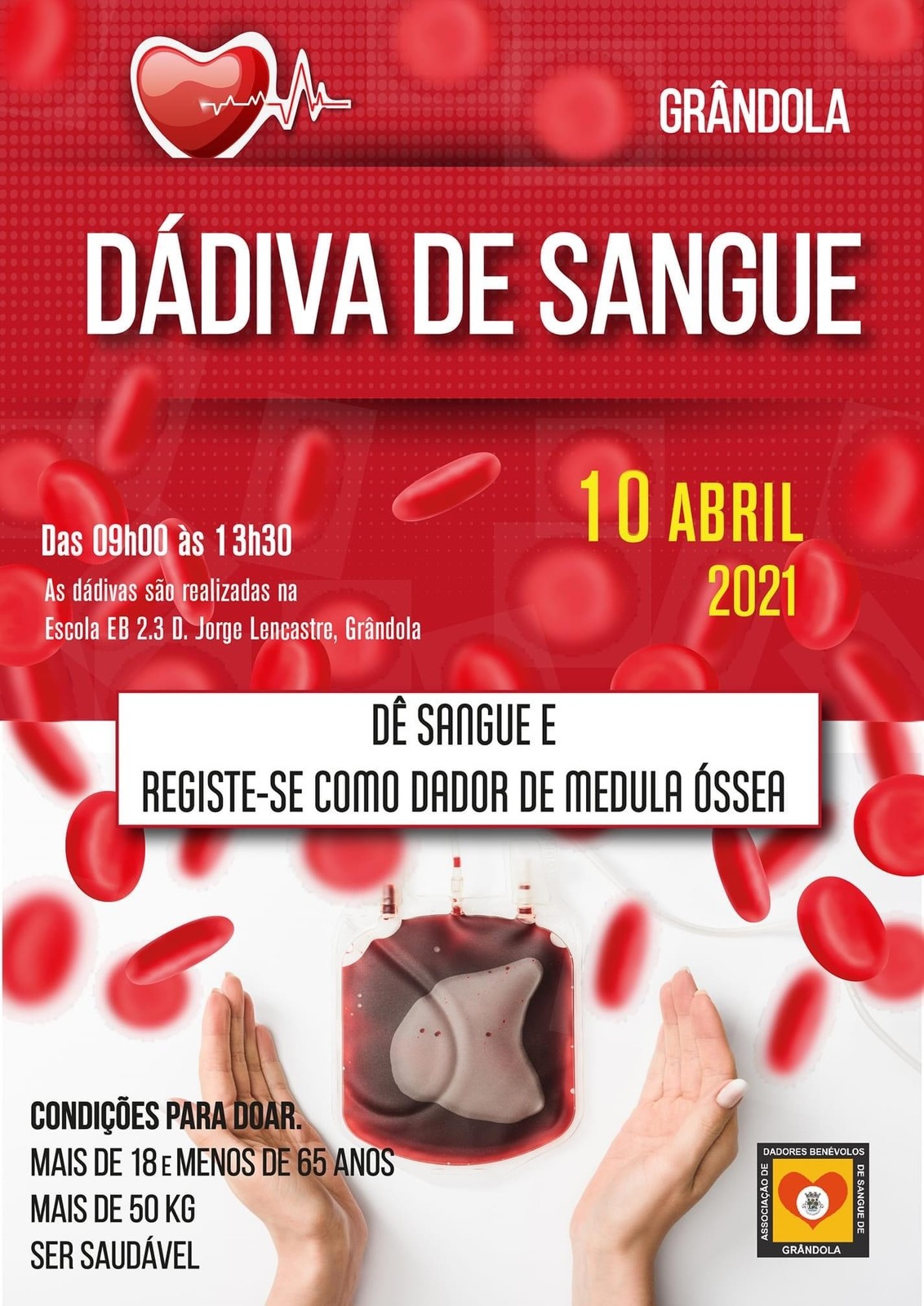 Dádiva de Sangue | Abril'2021